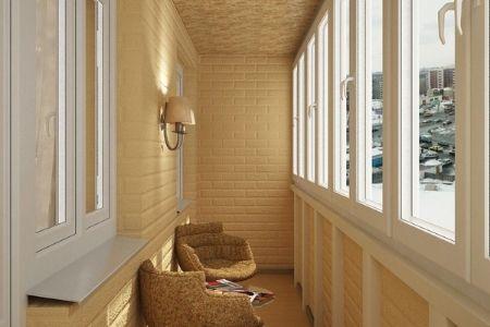 Чем обшить балкон? - фото