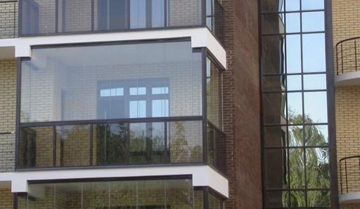 Алюминиевый профиль на балкон - фото