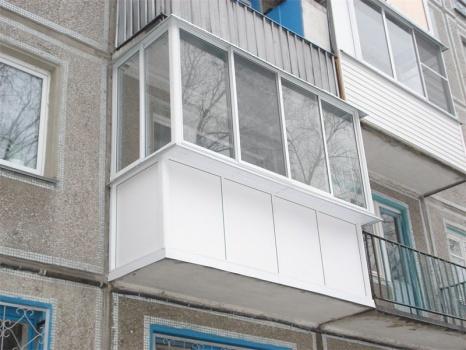 отделка балкона панелями пвх фото