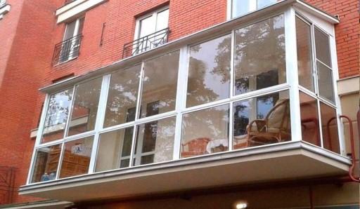 Увеличение площади балкона со сваркой - фото