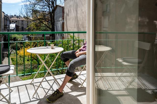 пвх дверь на балкон фото