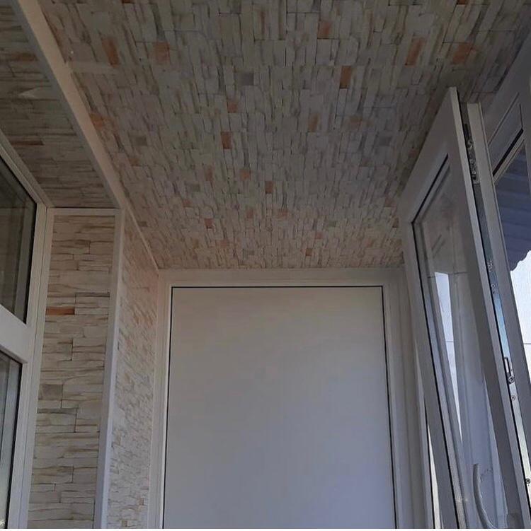 Внутренняя отделка балкона - фото