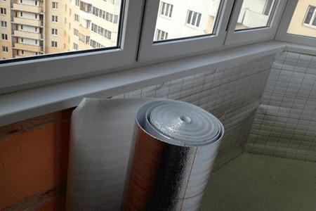 Зачем нужна пароизоляция балкона и чем еще можно утеплить балкон - фото