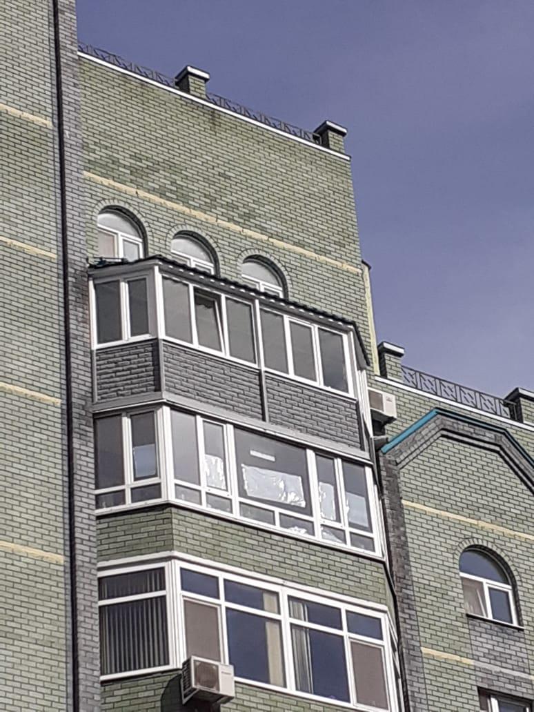 Остекление балконов - фото