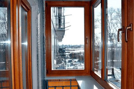 какие окна поставить на балкон фото