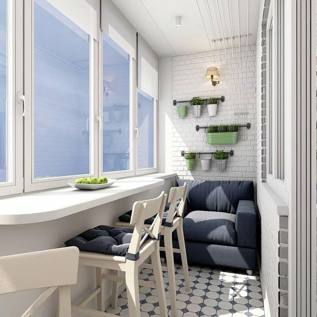 Остекление балконов пластиковыми окнами - фото