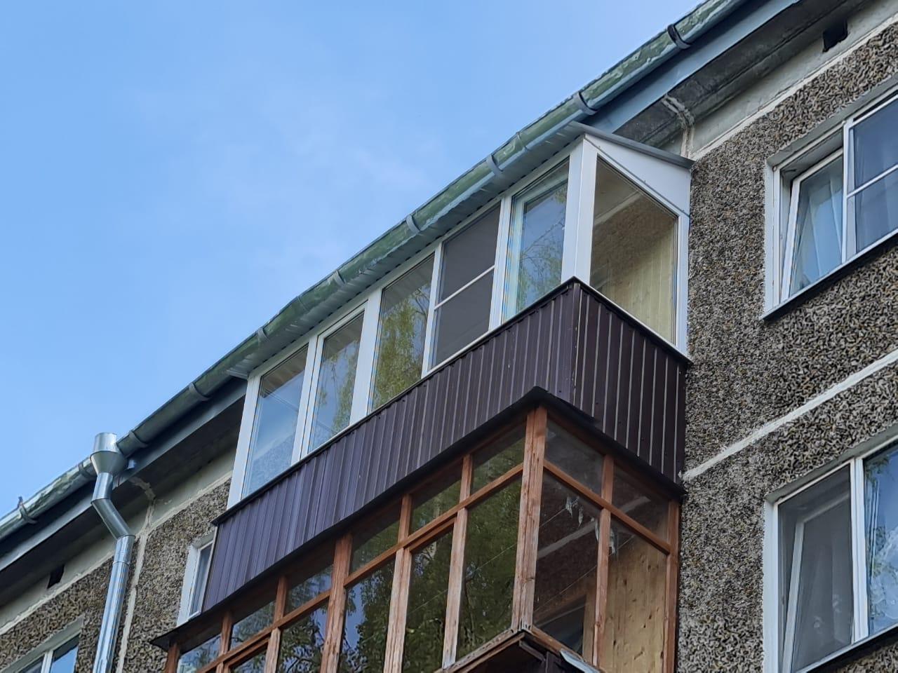 Демонтаж, монтаж и утепление балкона Ямашева 28 - фото