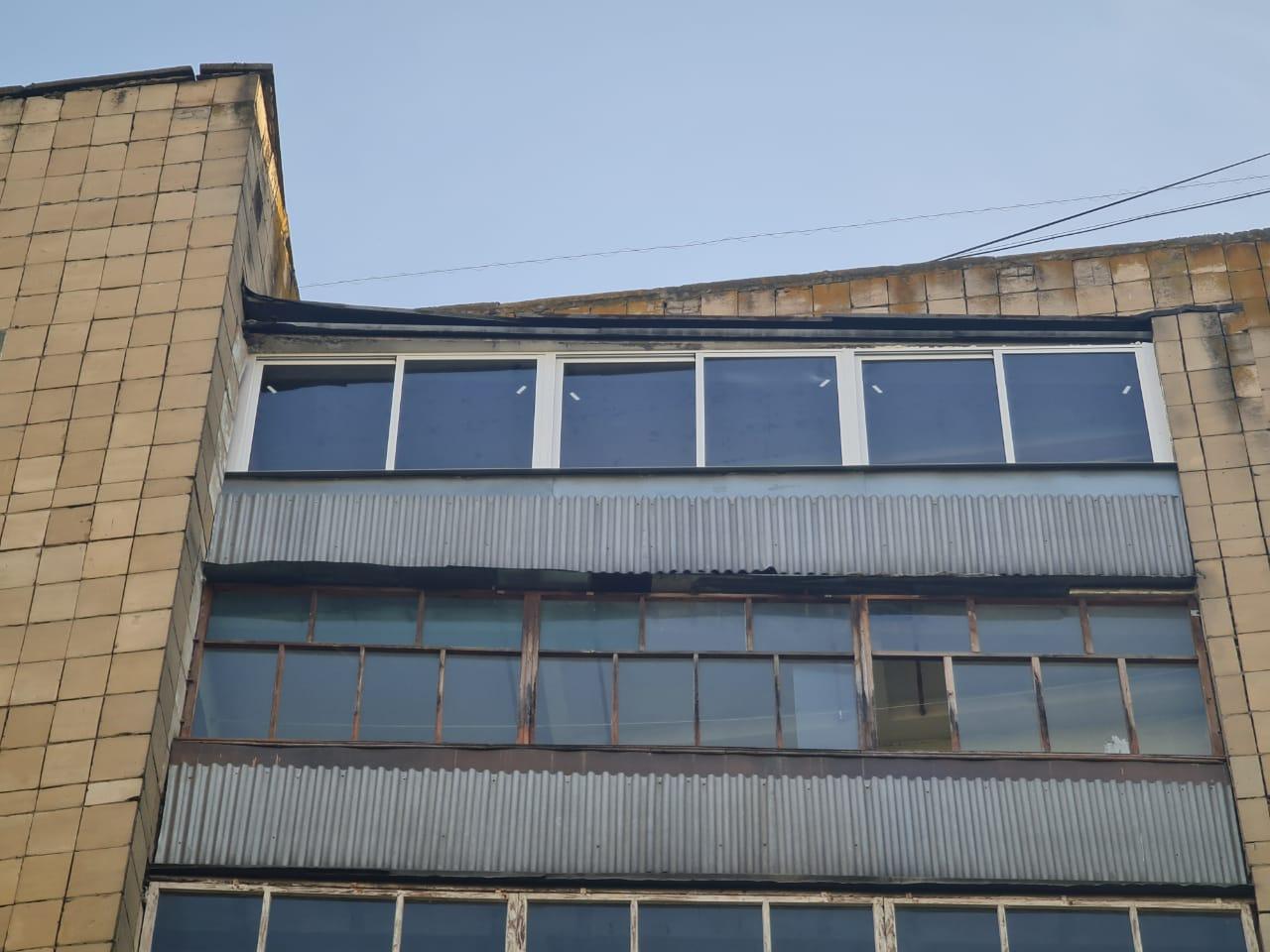 Остекление балкона Солдатская 3-63 - фото