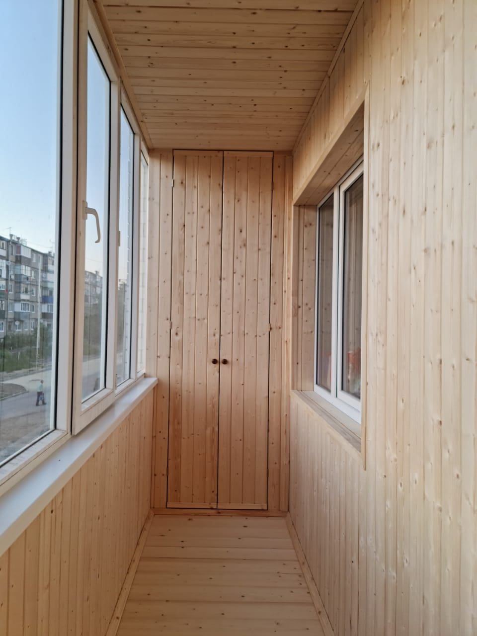 Балкон под ключ Высокая гора, ул. Мичурина 17 - фото