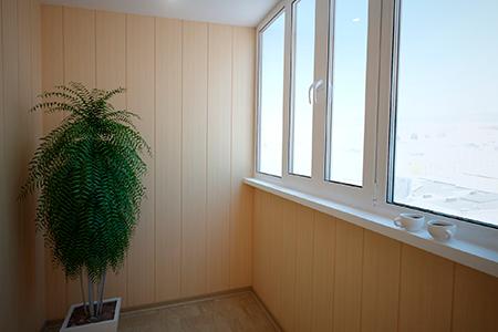 Отделка балкона ПВХ своими руками - фото