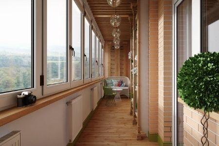 дизайн окон на балконе фото