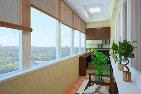 ремонт балкона дизайн фото
