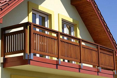 виды ограждений балкона фото
